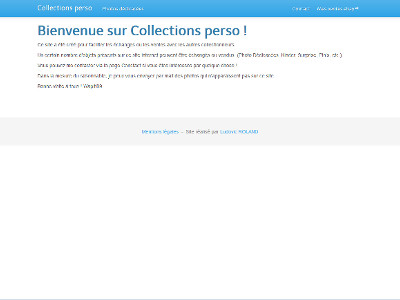 Collections perso